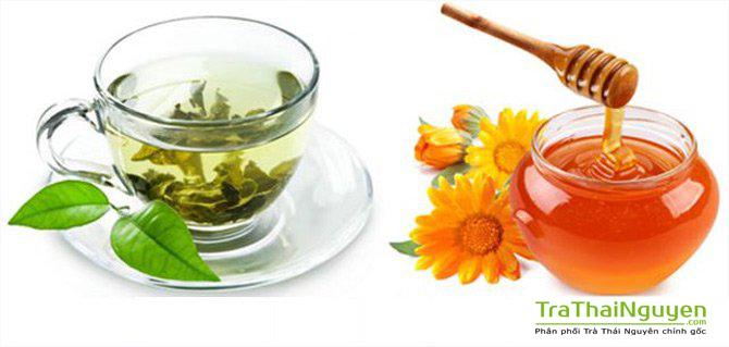 Sự kết hợp trà xanh và mật ong rất tốt cho sức khỏe