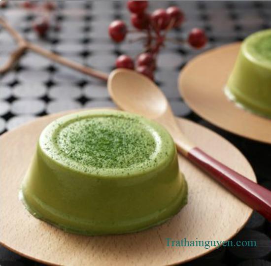 Thạch trà xanh